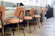 <h5>Frenchie Londres</h5><p>Chef propriétaire Greg et Marie Marchand. <br> Architecture et scénographie: Emilie Bonaventure.</p>