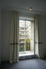 <h5>Chantier Wagram</h5><p>Double rideaux pour une chambre d'enfant pour Joséphine Theet Architecte</p>