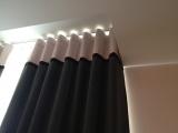 <h5>Rideaux tête Wave</h5><p>Rideaux tête Wave pour chambres d'hôtes dans le quartier du Marais Paris</p>